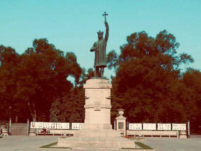 Chișinău - Denkmal Hl. Stefan