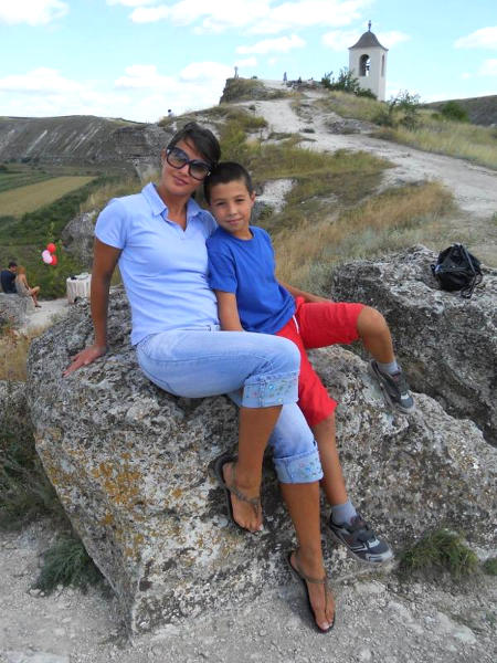 Ausflug mit Mutter zu historischer Stätte Orheiul Vechi