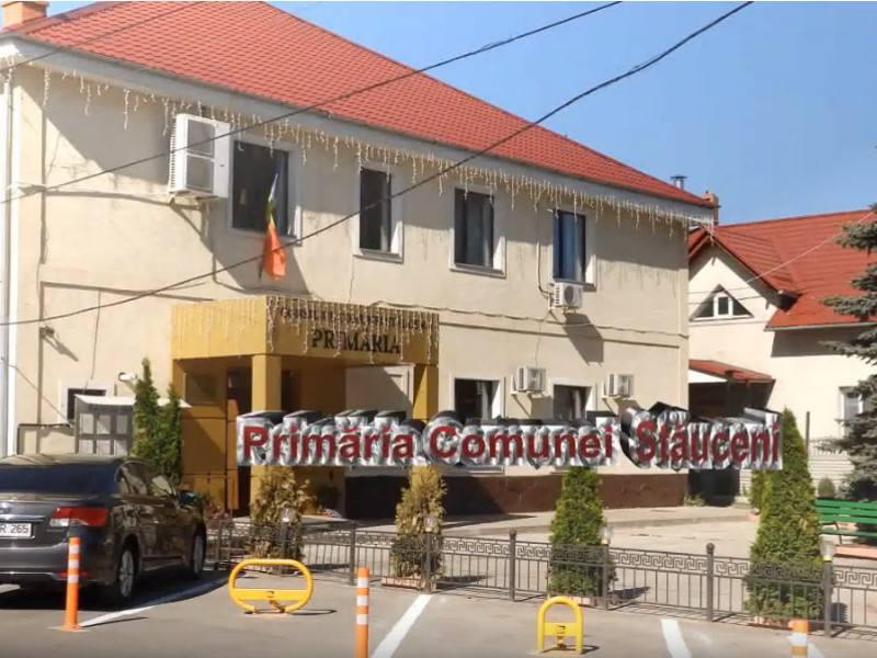 Grundschule in Stăuceni