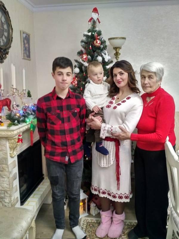 Craciun cu familia la Chișinău