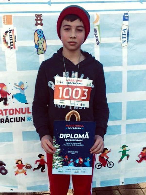Premiul la cursa de maraton